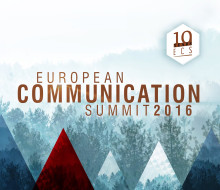 European Communication Summit . Showcase